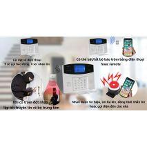 Bán BỘ BÁO TRỘM GSM PHÍM VẬT LÝ 433MHZ GP05 giá rẻ
