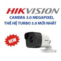 Địa chỉ bán Bộ 1 Camera 3.0Mp Hikvision (Trong Nhà Hoặc Ngoài Trời) uy tín tại Hà Nội