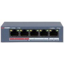 lắp đặt SWITCH POE HIKVISION 4 PORT DS-3E0105P-E/(B) giá rẻ,