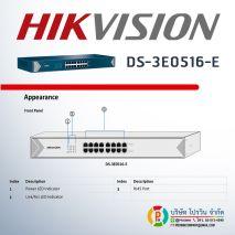 Nơi bán SWITCH HIKVISION 16 CỔNG DS-3E0516-E giá rẻ,