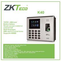 Đại lý Máy chấm công vân tay và thẻ ZKTeco K40 giá rẻ
