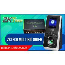 Máy chấm công khuôn mặt ZKteco MultiBio 800 - H chính hãng
