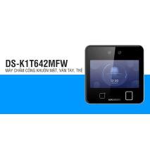 Lắp đặt Máy chấm công nhận diện khuôn mặt Hikvision DS-K1T642MFW