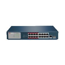 Đại lý phân phối Switch P0E 16 Port Hikvision DS-3E0318P-E/M(B) chính hãng