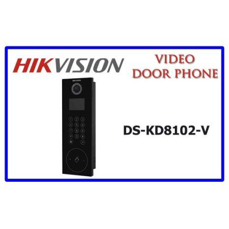 Bán Nút chuông cửa IP HIKVISION DS-KD8102-V rẻ nhât Hà Nội