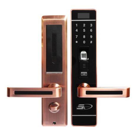 Khoá cửa vân tay 5ASYSTEMS 5A 7800 Plus ĐỒNG