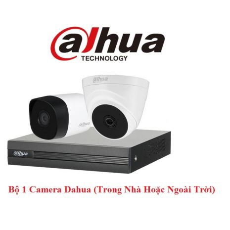 Bộ 1 Camera 2.0Mp Dahua (Trong Nhà Hoặc Ngoài Trời) chính hãng giá rẻ